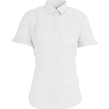 Textiel Dames Overhemden Brook Taverner Poplin Wit
