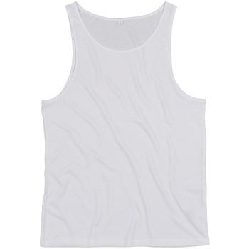 Textiel Mouwloze tops Mantis M133 Wit