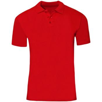 Textiel Heren Polo's korte mouwen Sols Jersey Rood