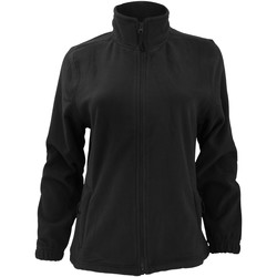 Textiel Dames Fleece Sols North Zwart