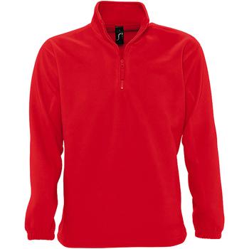Textiel Heren Fleece Sols 56000 Rood
