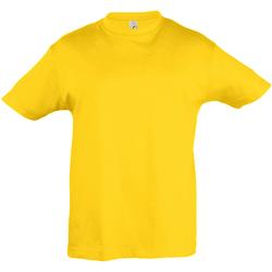 Textiel Kinderen T-shirts korte mouwen Sols Regent Goud