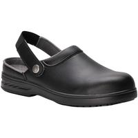 Schoenen Klompen Portwest Safety Zwart