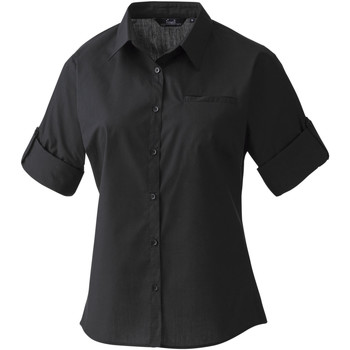 Textiel Dames Overhemden Premier Poplin Zwart