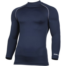 Textiel Heren T-shirts met lange mouwen Rhino RH001 Marine