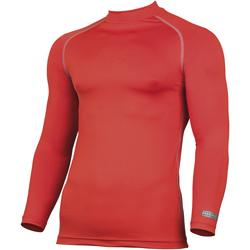 Textiel Heren T-shirts met lange mouwen Rhino RH001 Rood