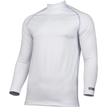 Textiel Heren T-shirts met lange mouwen Rhino RH001 Wit