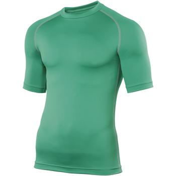 Textiel Heren T-shirts korte mouwen Rhino RH002 Groen