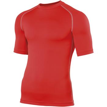 Textiel Heren T-shirts korte mouwen Rhino RH002 Rood