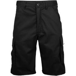 Textiel Heren Korte broeken / Bermuda's Rty Workwear Work Zwart