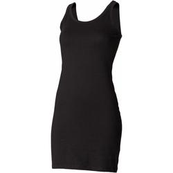Textiel Dames Korte jurken Skinni Fit Stretch Zwart