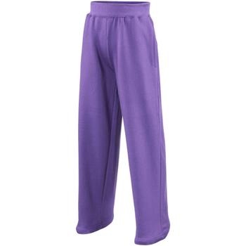 Textiel Kinderen Trainingsbroeken Awdis JH71J Paars