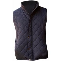 Textiel Heren Vesten / Cardigans Front Row Diamond Pattern Zwart