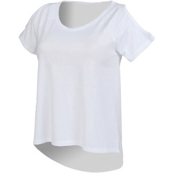 Textiel Dames T-shirts korte mouwen Skinni Fit SK233 Wit