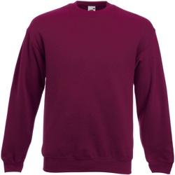 Textiel Heren Sweaters / Sweatshirts Fruit Of The Loom Premium Bordeaux