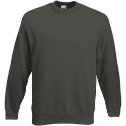 Textiel Heren Sweaters / Sweatshirts Fruit Of The Loom 62154 Charcoal