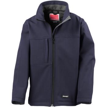 Textiel Jongens Wind jackets Result Softshell Marine