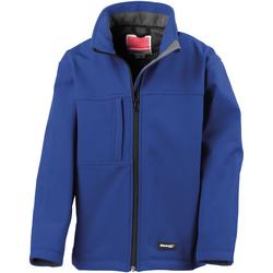 Textiel Jongens Wind jackets Result Softshell Koninklijk
