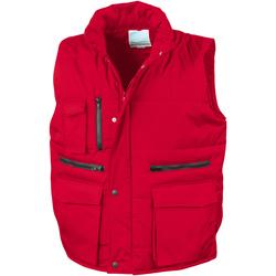Textiel Heren Vesten / Cardigans Result Showerproof Rood