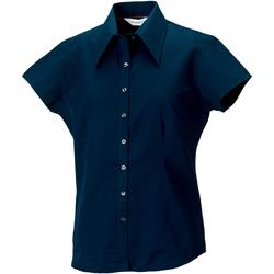 Textiel Dames Overhemden Russell J955F Marine