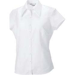 Textiel Dames Overhemden Russell Tencel Wit
