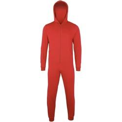 Textiel Kinderen Pyjama's / nachthemden Colortone CC01J Rood