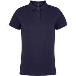 Textiel Dames Polo's korte mouwen Asquith & Fox  Marine