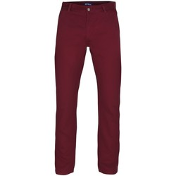 Textiel Heren Chino's Asquith & Fox Casual Bourgondië