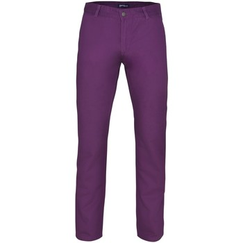 Textiel Heren Chino's Asquith & Fox Casual Paars