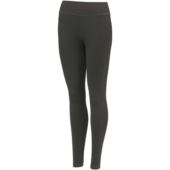 Textiel Dames Leggings Awdis Athletic Houtskool