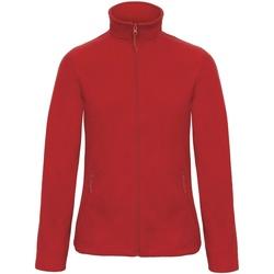 Textiel Dames Fleece B And C ID 501 Rood