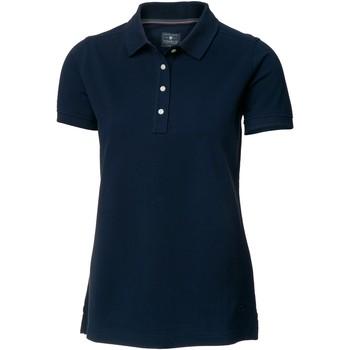 Textiel Dames Polo's korte mouwen Nimbus Yale Marine