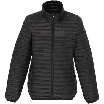 Textiel Dames Dons gevoerde jassen 2786 Fineline Zwart