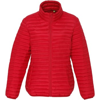 Textiel Dames Dons gevoerde jassen 2786 Fineline Rood