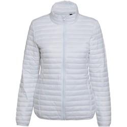 Textiel Dames Dons gevoerde jassen 2786 Fineline Wit