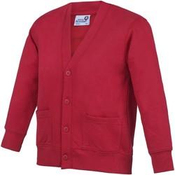 Textiel Kinderen Vesten / Cardigans Awdis Academy Rood