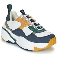 Schoenen Dames Lage sneakers Victoria SNEAKER MALLA/MULTIMATERIAL Wit / Marine