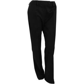 Textiel Dames Chino's Brook Taverner Formal Zwart