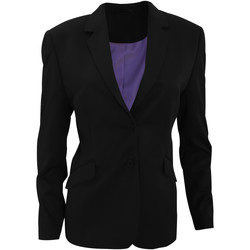 Textiel Dames Anzugjacken Brook Taverner Formal Zwart