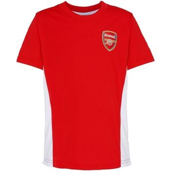 Textiel Kinderen T-shirts korte mouwen Arsenal Fc OF301 Rood