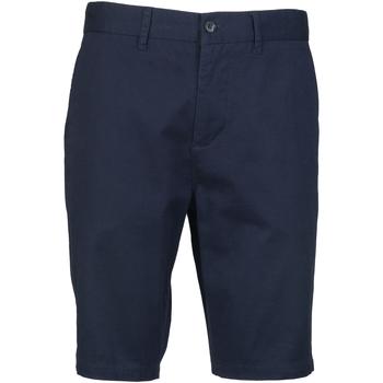 Textiel Heren Korte broeken / Bermuda's Front Row Chino Marine