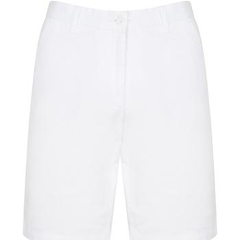 Textiel Heren Korte broeken / Bermuda's Front Row Chino Wit
