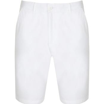 Textiel Dames Korte broeken / Bermuda's Front Row Chino Wit