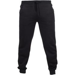 Textiel Heren Trainingsbroeken Skinni Fit Cuffed Zwart