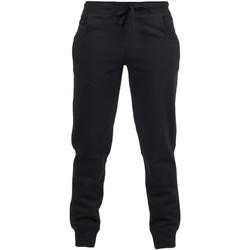 Textiel Kinderen Trainingsbroeken Skinni Fit SM425 Zwart