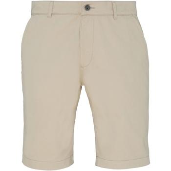 Textiel Heren Korte broeken / Bermuda's Asquith & Fox Chino Natuurlijk
