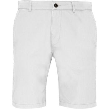 Textiel Heren Korte broeken / Bermuda's Asquith & Fox Chino Wit