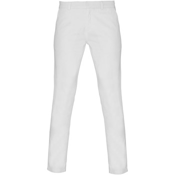 Textiel Dames Chino's Asquith & Fox Chino Wit