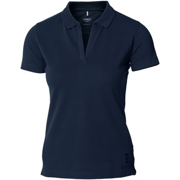 Textiel Dames Polo's korte mouwen Nimbus Harvard Marine