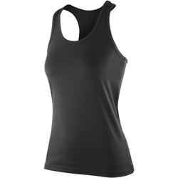 Textiel Dames Mouwloze tops Spiro S281F Zwart